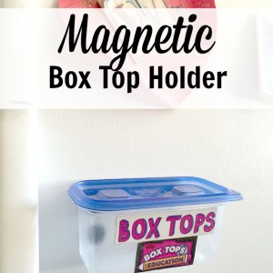 Magnetic Box Top Holder