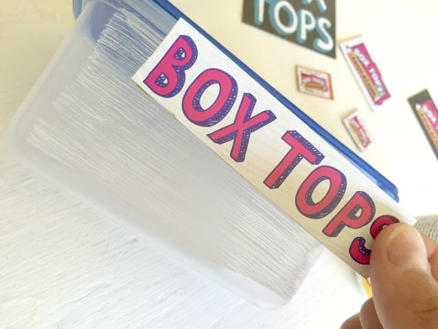 box top holder