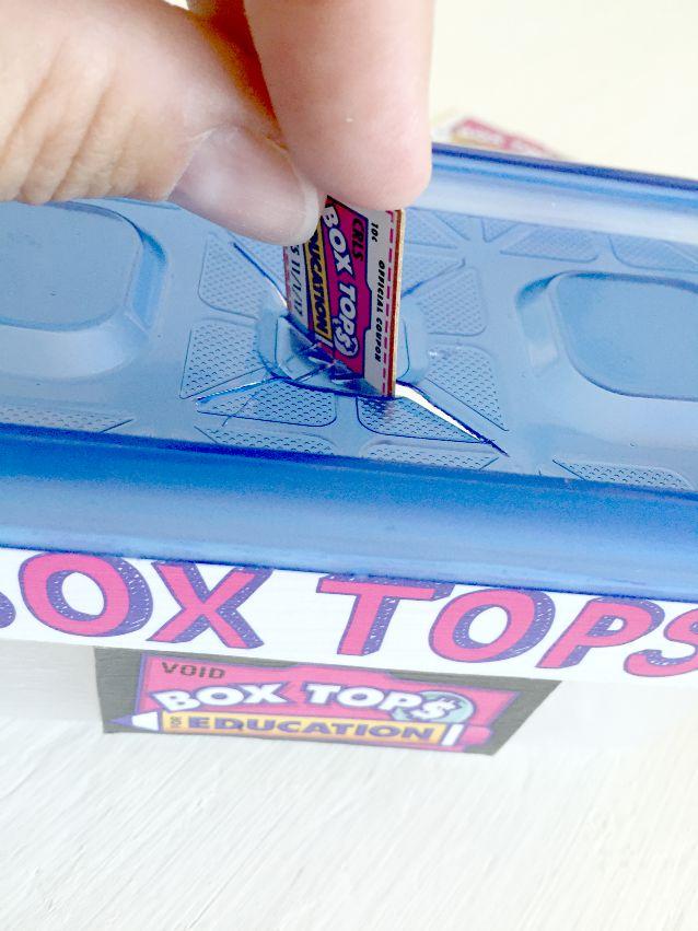 box top holder