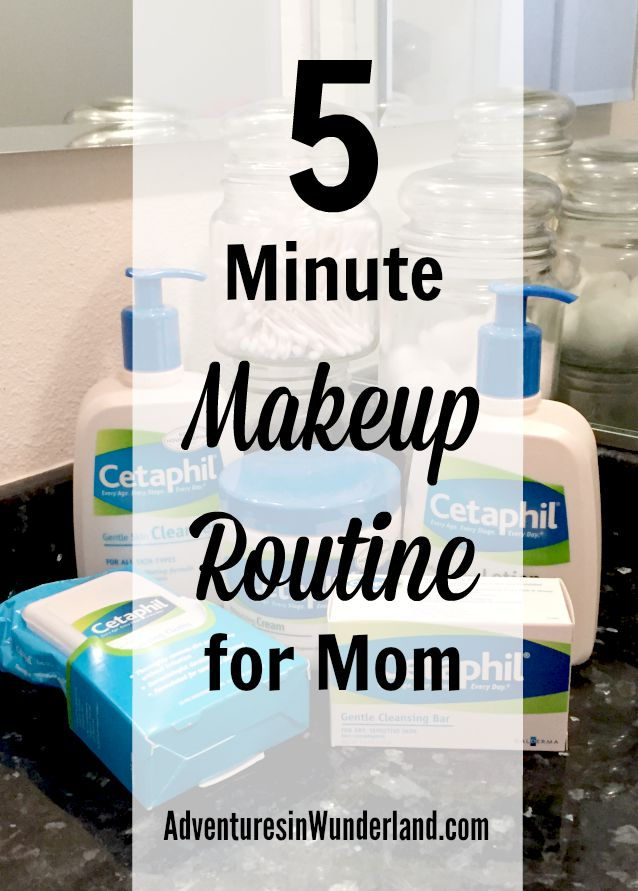 5 Minute Makeup Routine for Mom