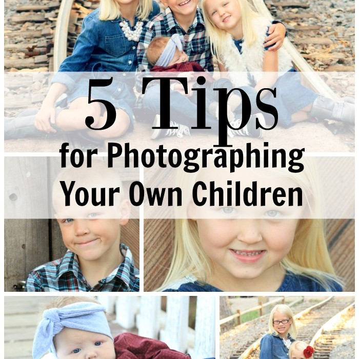 5 Tips for Photographing Your Own Children