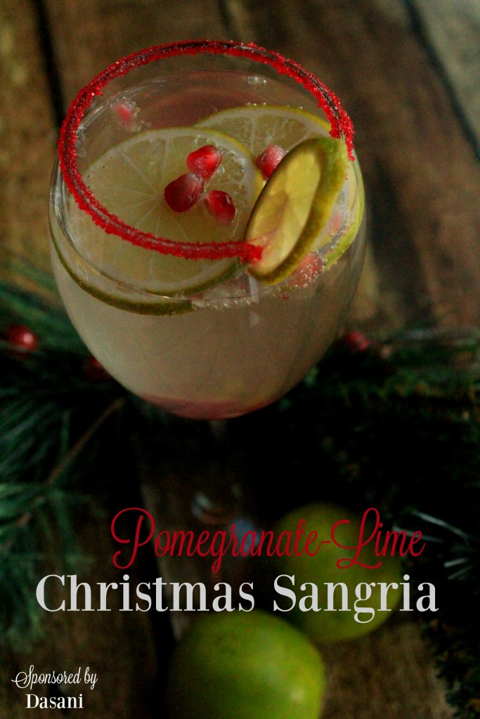 pomegranite lime sangria