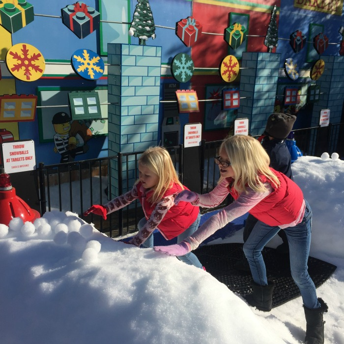 Snow Days and Holiday Nights at LEGOLand California