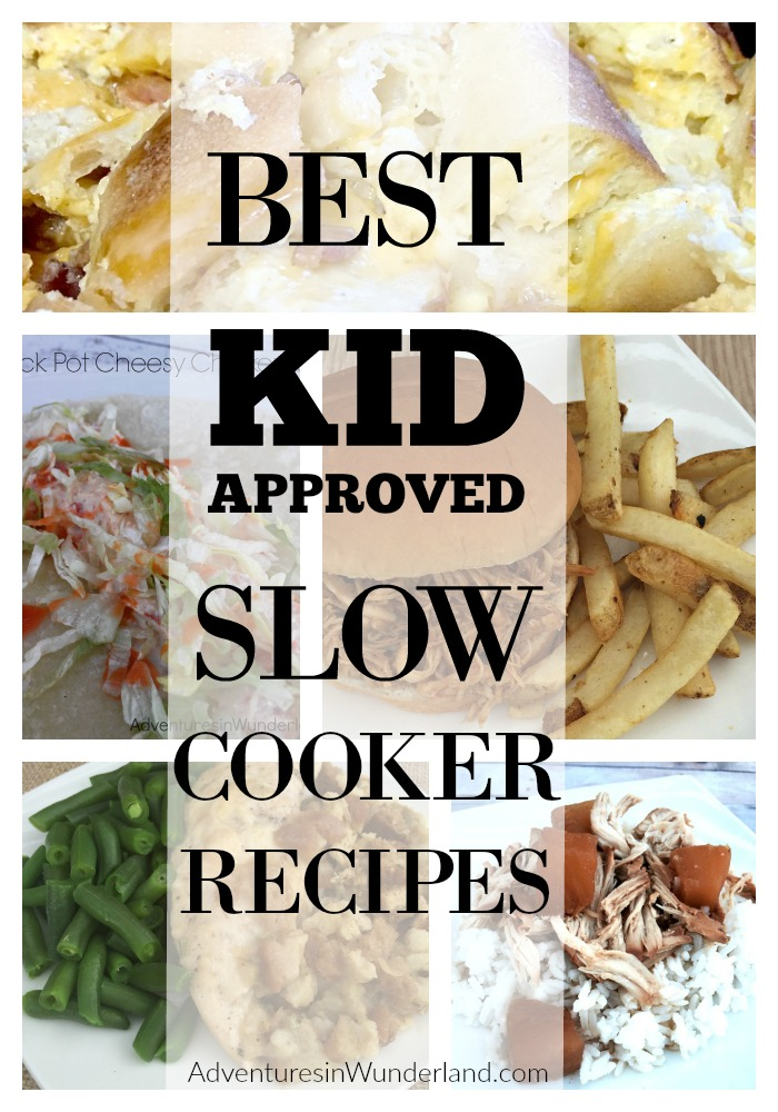 kid approved crock pot recipes