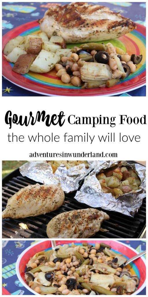 gourmet camping foods