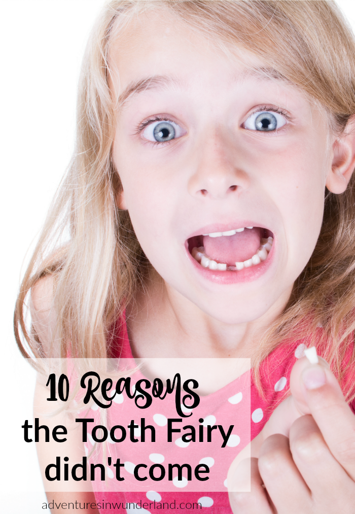 tooth fairy didn't come