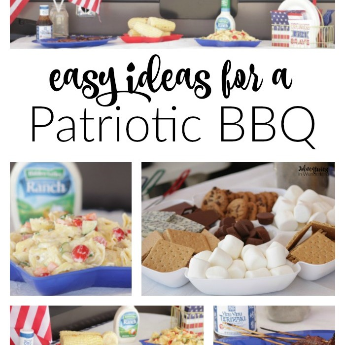Easy Ideas for  a Patriotic BBQ
