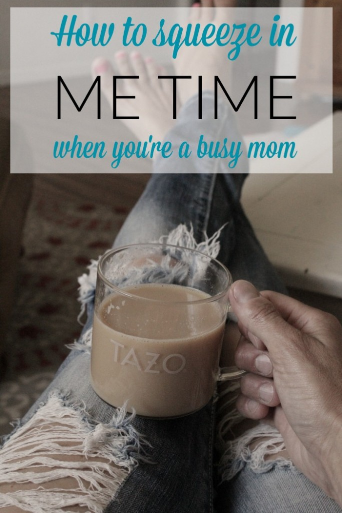 me time for busy moms