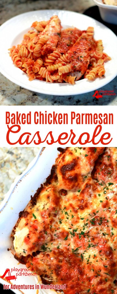 baked chicken parmesan casserole