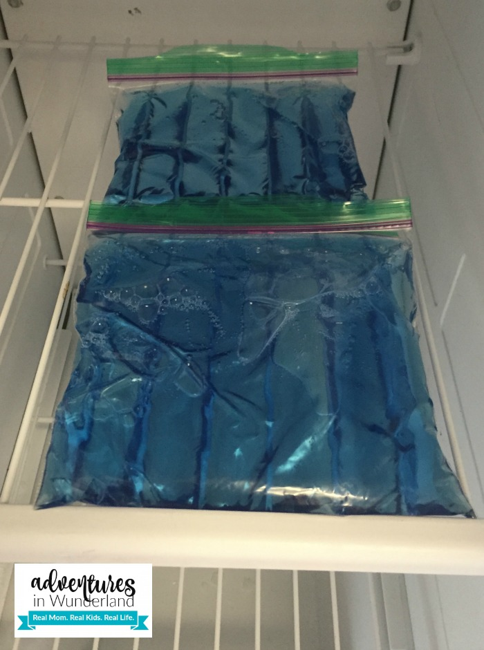 DIY cold packs