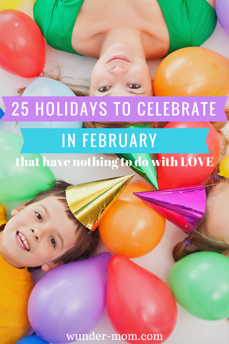 25 holidays to celebrate