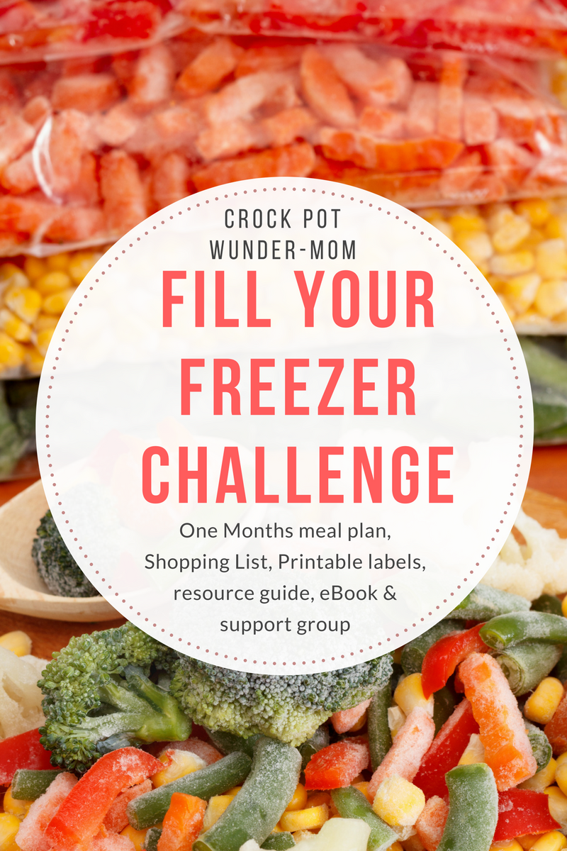 Fill Your Freezer Challenge