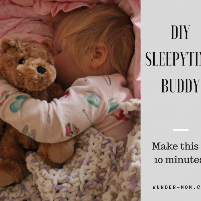 DIY Weighted Sleepy Time Buddy