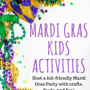 mardi gras kids activities