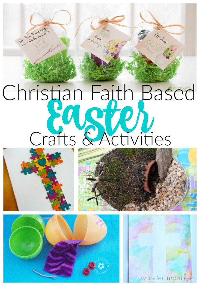 Christian Faith Based Easter Activities and crafts