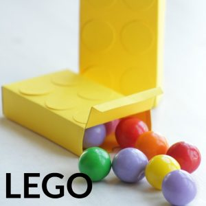 LEGO treat box