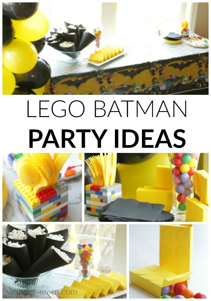 LEGO Batman Party Ideas that are Easy and Affordable