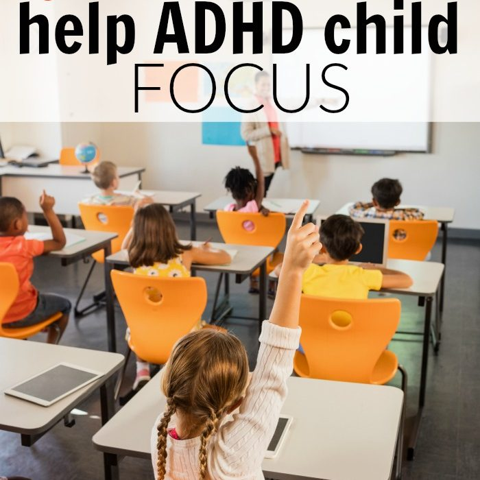 4 surefire ways to help your ADHD child focus without medication