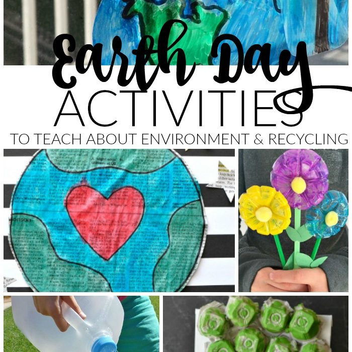 Earth Day Activities to Teach Kids About Environment and Importance of Recycling