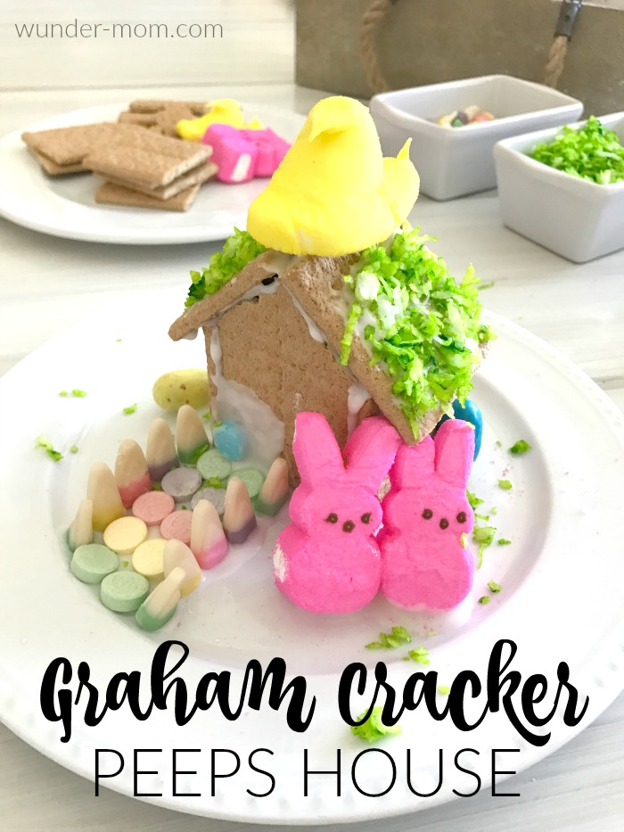 graham cracker peeps house