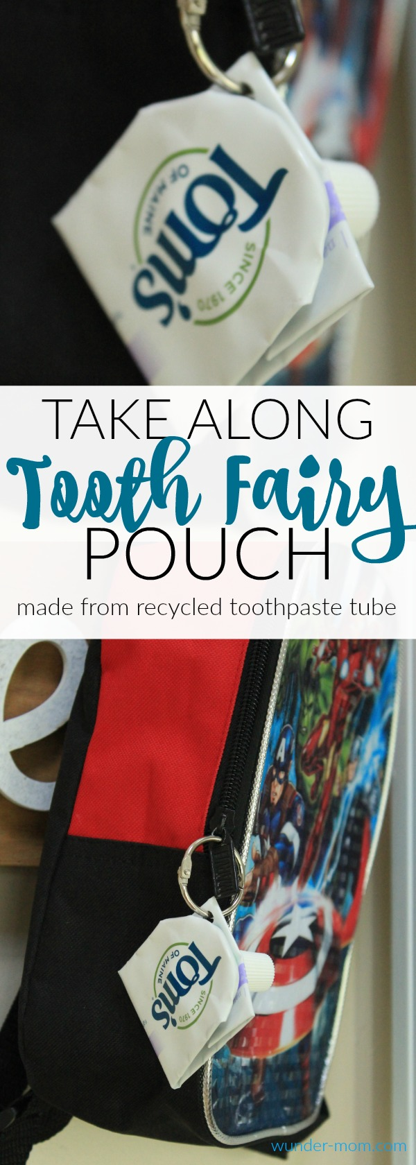 take along tooth fairy pouch