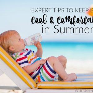 keep baby cool