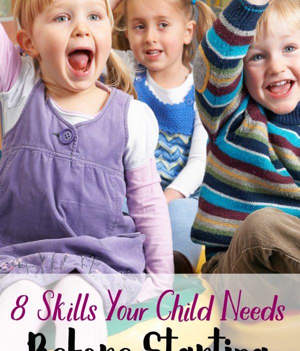 8 Skills Your Child Needs Before Starting Kindergarten
