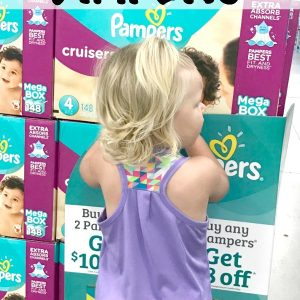 How to Stock Up on Diapers and Organize an On-the-Go Changing Station