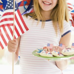 red, white, and blue crafts and activities