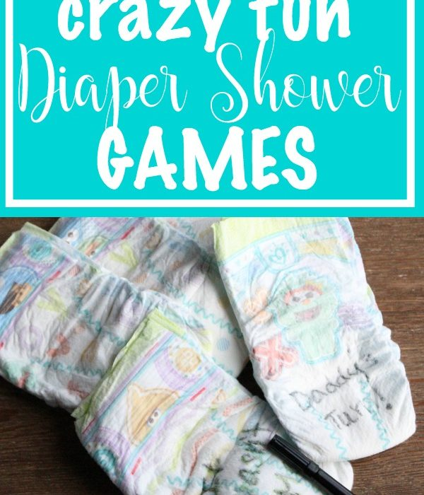 How to Host a Diaper Shower (with crazy fun diaper games)