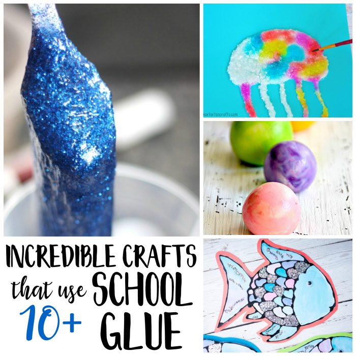 Incredible Crafts Using White School Glue