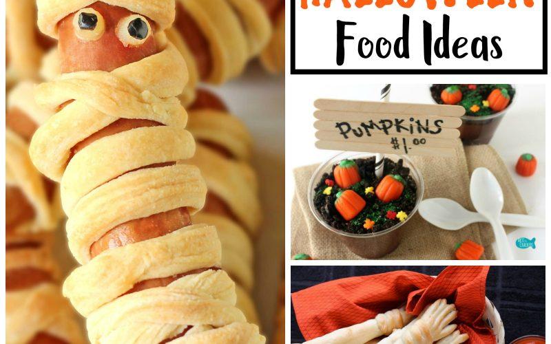 Not So Spooky Halloween Treats for Kids