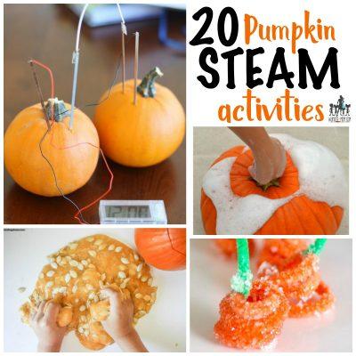 Incredible Pumpkin STEAM Activities