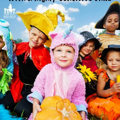 trick or treat Halloween tips with highly sensitive child