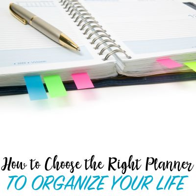 The Ultimate Guide to Choosing the Right Planner and Organizing Your Life this Year