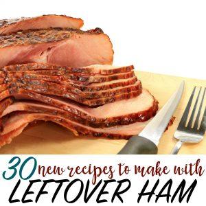 leftover hame recipes