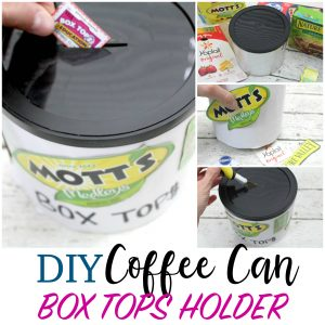 BOX TOPS HOLDER