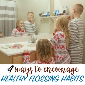 HEALTHY FLOSSING HABITS WITH KIDS