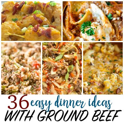 Cheap Recipes – 36 Things to Make with Ground Beef
