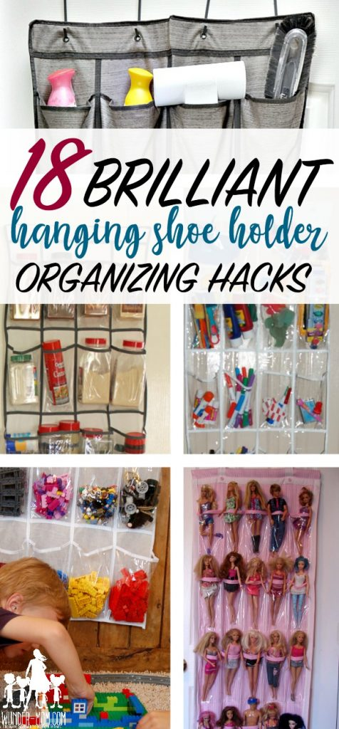 hanging shoe holder organizing hacks
