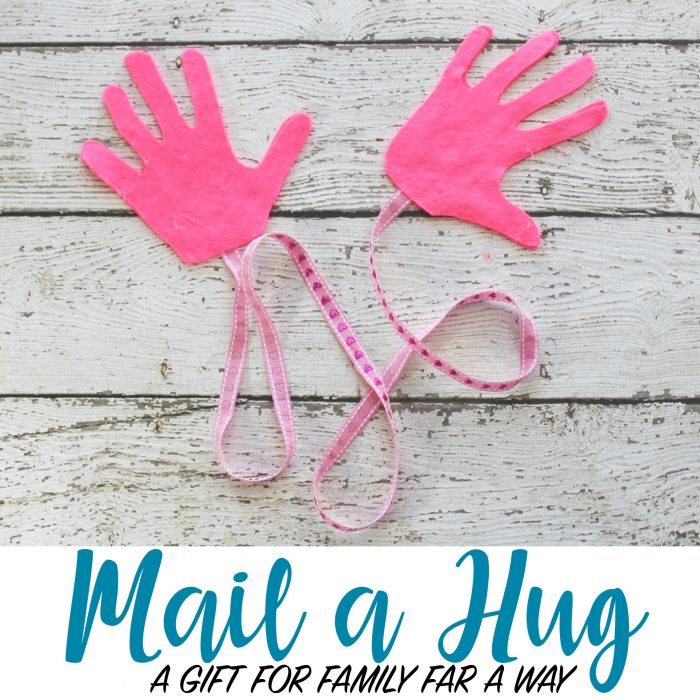 Mail a Hug – the perfect DIY gift to send to family far away