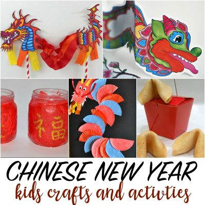 Chinese New Year Celebration for Kids, Crafts and Activities