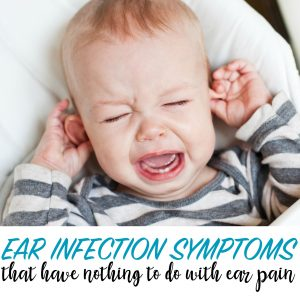 ear infection symptoms