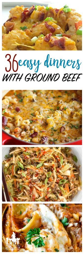 cheap dinners, things to make with ground beef