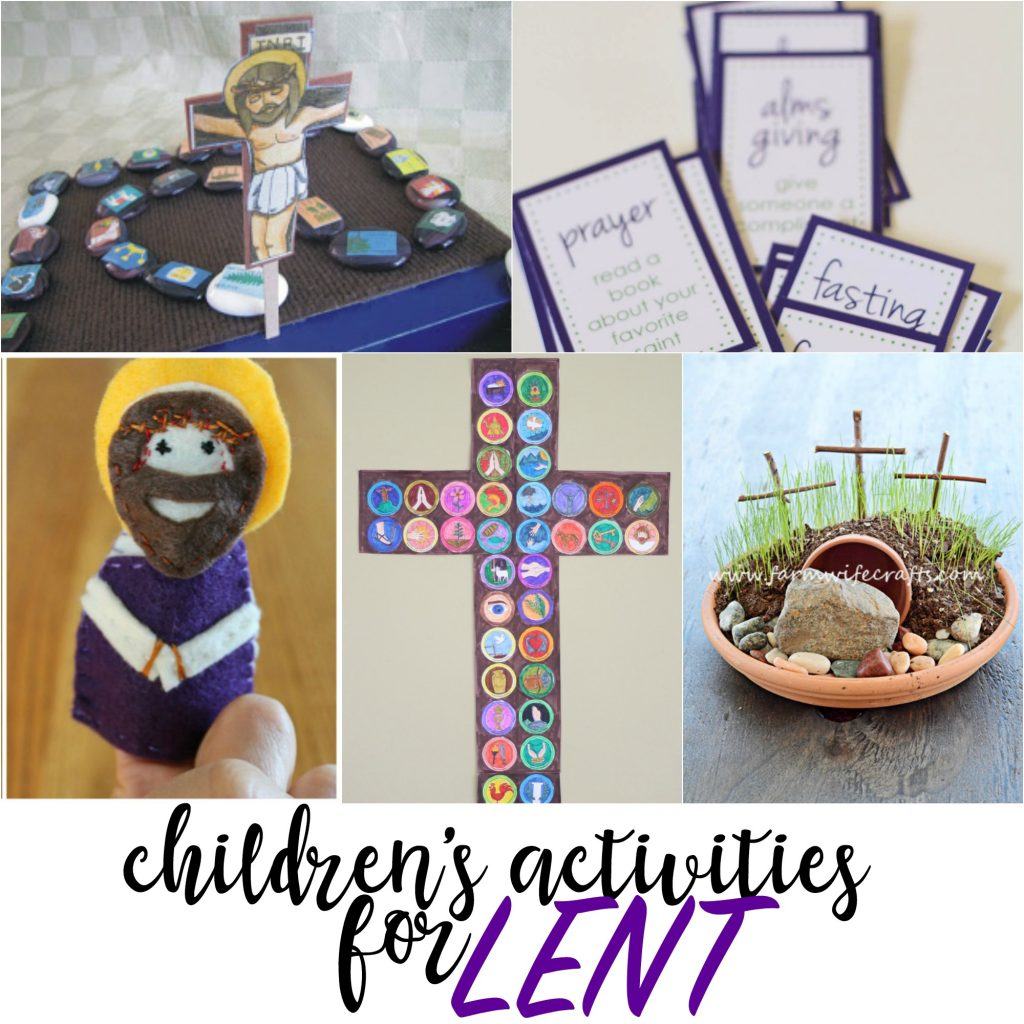 kids activities for lenten season