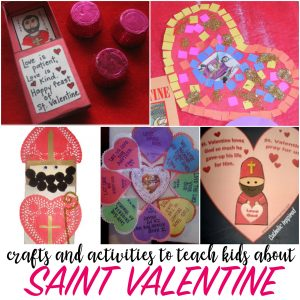 saint valentine crafts