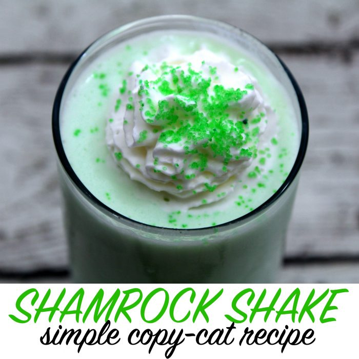Shamrock Shake Recipe – the perfect St. Patrick's Day Dessert