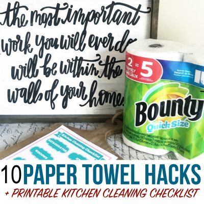 Brilliant paper towel kitchen cleaning hacks that will save you time and money