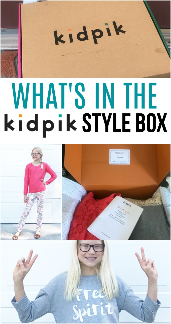 KIDPIK SUBSCRIPTION BOX FOR GIRLS