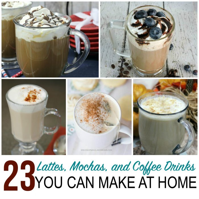 Lattes, Mochas, and Coffee Drinks – 23 Recipes to Make at Home